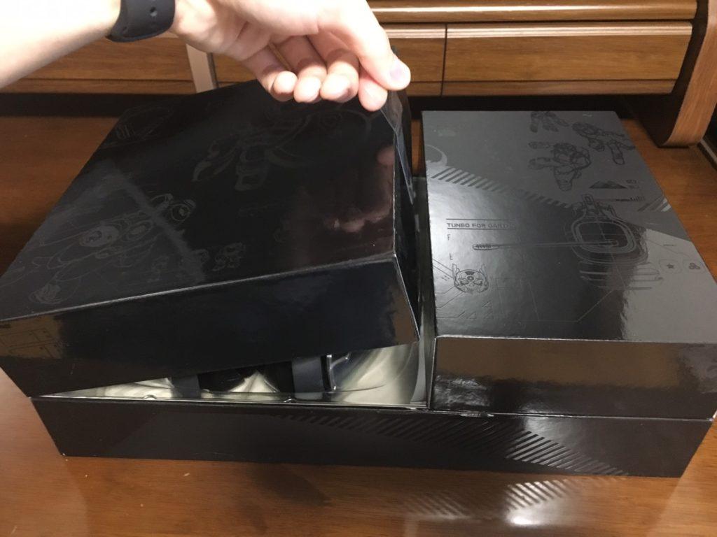 新型mixamp pro trの中箱を開けている画像①