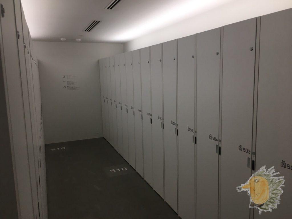 ナインアワーズ蒲田 4F 男子ロッカールーム その2