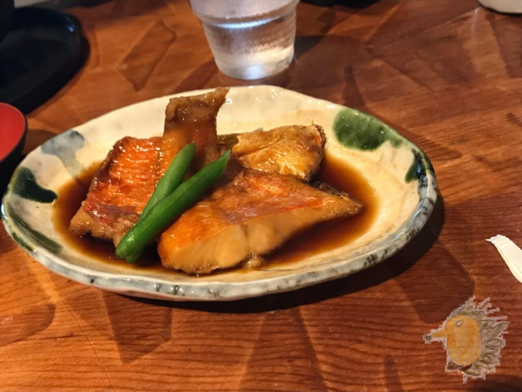 伊豆高原ビール本店レストラン 金目鯛の煮付け